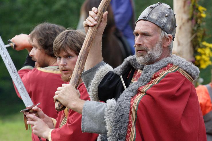 Kongsmennene vert jaga - Gaularspelet 2007