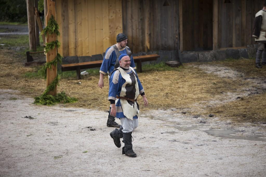Kongsmennenene kjem! Ravn (Martin Søgnen) og Øyvind Nidskald (Narve Søgnen)
