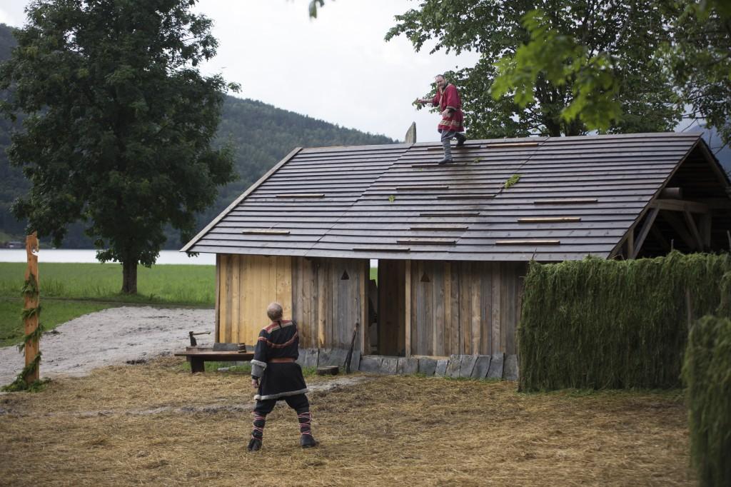Homstein på taket