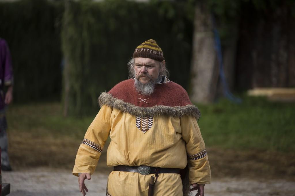 Fridtjof Urdal i rolla som Gunnar Skald