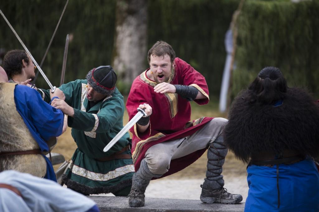 Slaget ved Staveneset, Sveinung Nes i rolla som Herstein Atleson