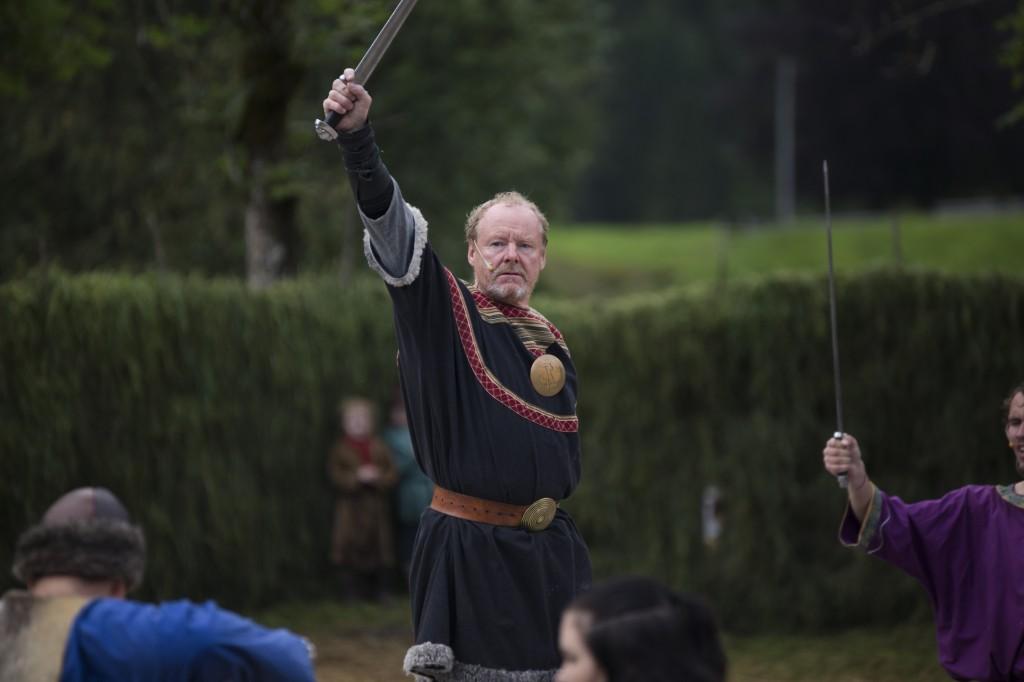 Øyvind Halsnes i rolla som Atle Jarl
